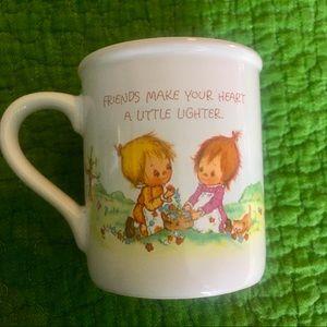 Cute precious moments hallmark vintage mug coffee